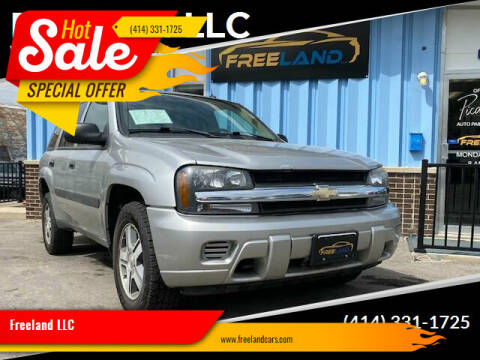 2005 Chevrolet TrailBlazer for sale at Freeland LLC in Waukesha WI