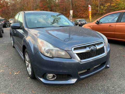 2013 Subaru Legacy for sale at D & M Discount Auto Sales in Stafford VA