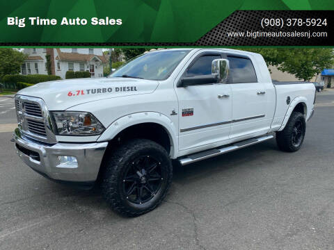 2012 RAM Ram Pickup 2500 for sale at Big Time Auto Sales in Vauxhall NJ