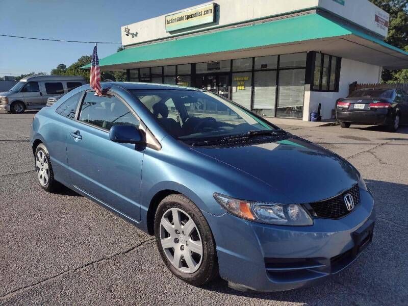 2010 Honda Civic for sale at Action Auto Specialist in Norfolk VA