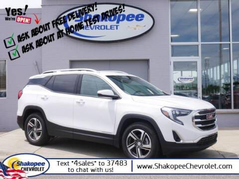 2018 GMC Terrain for sale at SHAKOPEE CHEVROLET in Shakopee MN