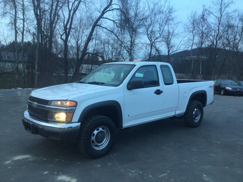 2008 Chevrolet Colorado for sale at AFFORDABLE AUTO SVC & SALES in Bath NY