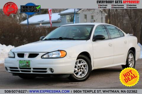 2005 Pontiac Grand Am for sale at Auto Sales Express in Whitman MA