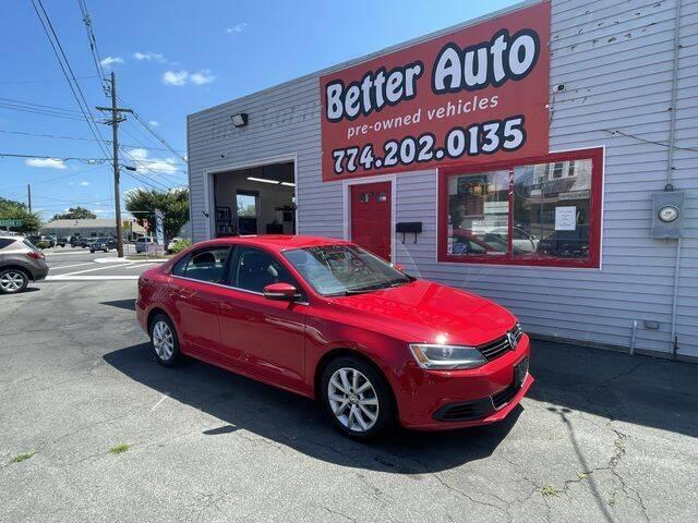 2013 Volkswagen Jetta for sale at Better Auto in Dartmouth MA