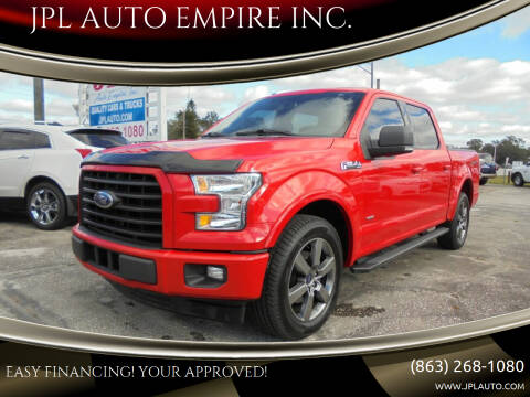 2017 Ford F-150 for sale at JPL AUTO EMPIRE INC. in Auburndale FL