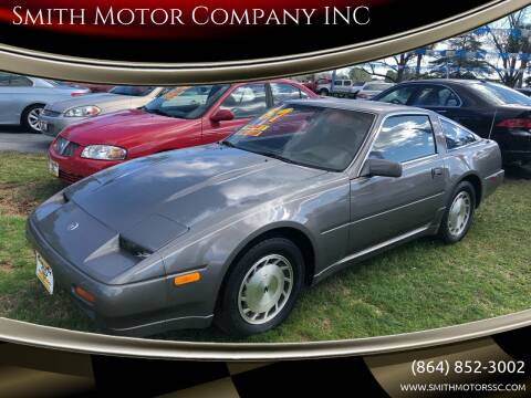 1987 Nissan 300ZX for sale at Smith Motor Company INC in Mc Cormick SC