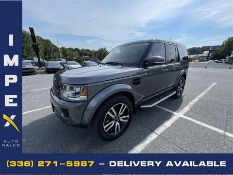 2014 Land Rover LR4 for sale at Impex Auto Sales in Greensboro NC