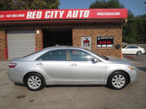 2008 Toyota Camry Hybrid for sale at Red City  Auto in Omaha NE