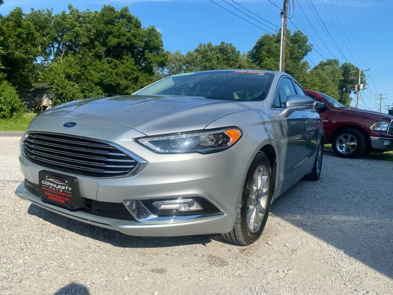 2017 Ford Fusion for sale at Community Auto Sales & Service in Fayette MO