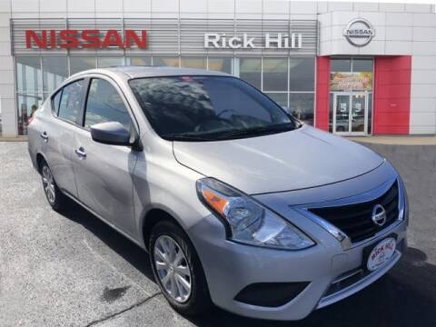 2019 Nissan Versa for sale at Rick Hill Auto Credit in Dyersburg TN