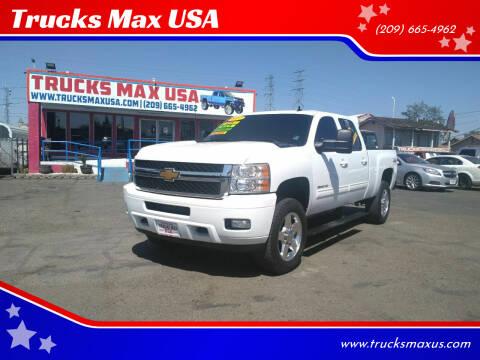 2012 Chevrolet Silverado 2500HD for sale at Trucks Max USA in Manteca CA