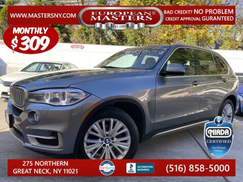 2017 BMW X5 for sale at European Masters in Great Neck NY