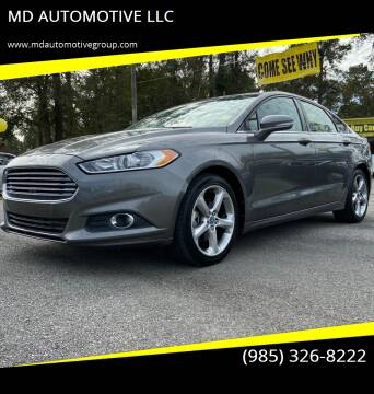 2013 Ford Fusion for sale at MD AUTOMOTIVE LLC in Slidell LA