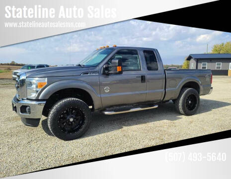 2012 Ford F-250 Super Duty for sale at Stateline Auto Sales in Mabel MN