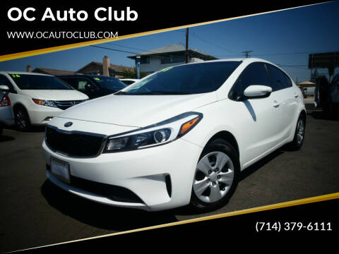2018 Kia Forte for sale at OC Auto Club in Midway City CA