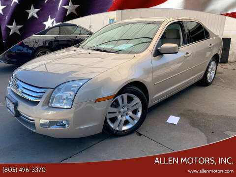 2006 Ford Fusion for sale at Allen Motors, Inc. in Thousand Oaks CA
