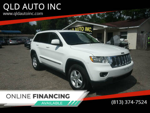 2013 Jeep Grand Cherokee for sale at QLD AUTO INC in Tampa FL