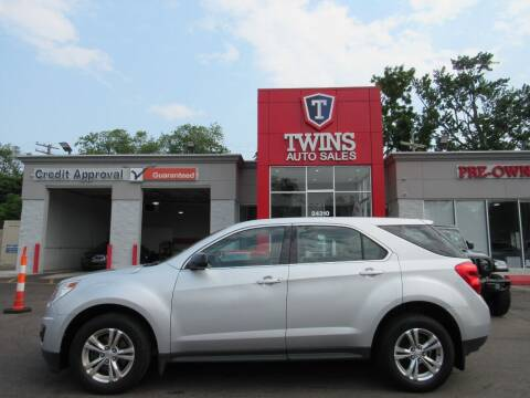 2012 Chevrolet Equinox for sale at Twins Auto Sales Inc in Detroit MI