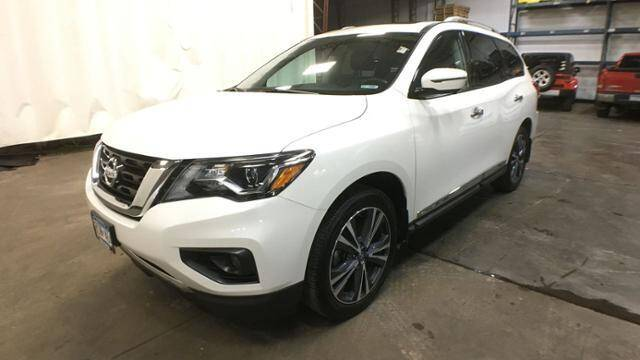 2017 Nissan Pathfinder for sale at Victoria Auto Sales in Victoria MN