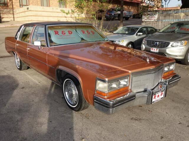 1980 Cadillac DeVille for sale at R & D Motors in Austin TX