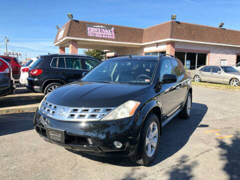 2004 Nissan Murano for sale at Central 1 Auto Brokers in Virginia Beach VA