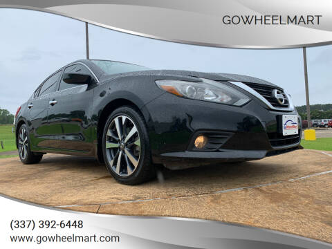 2016 Nissan Altima for sale at GOWHEELMART in Leesville LA