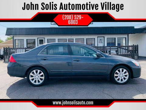 2006 Honda Accord for sale at John Solis Automotive Village in Idaho Falls ID