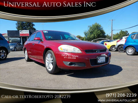 2011 Chevrolet Impala for sale at Universal Auto Sales Inc in Salem OR