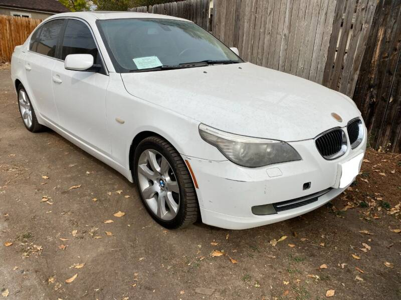 2008 BMW 5 Series for sale at Zapp Motors in Englewood CO