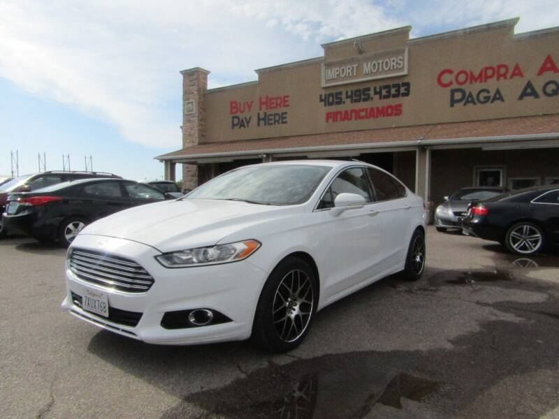 2015 Ford Fusion for sale at Import Motors in Bethany OK