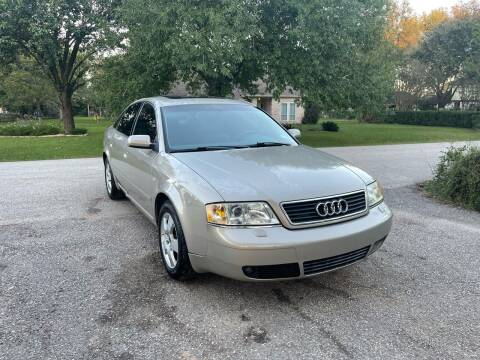 2001 Audi A6 for sale at CARWIN MOTORS in Katy TX
