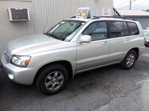 2004 Toyota Highlander for sale at Fulmer Auto Cycle Sales - Fulmer Auto Sales in Easton PA