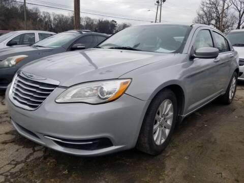 2014 Chrysler 200 for sale at DREWS AUTO SALES INTERNATIONAL BROKERAGE in Atlanta GA