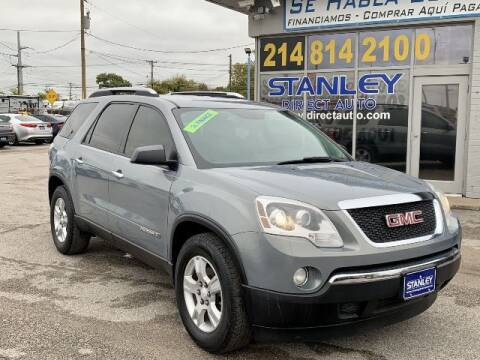2008 GMC Acadia for sale at Stanley Direct Auto in Mesquite TX