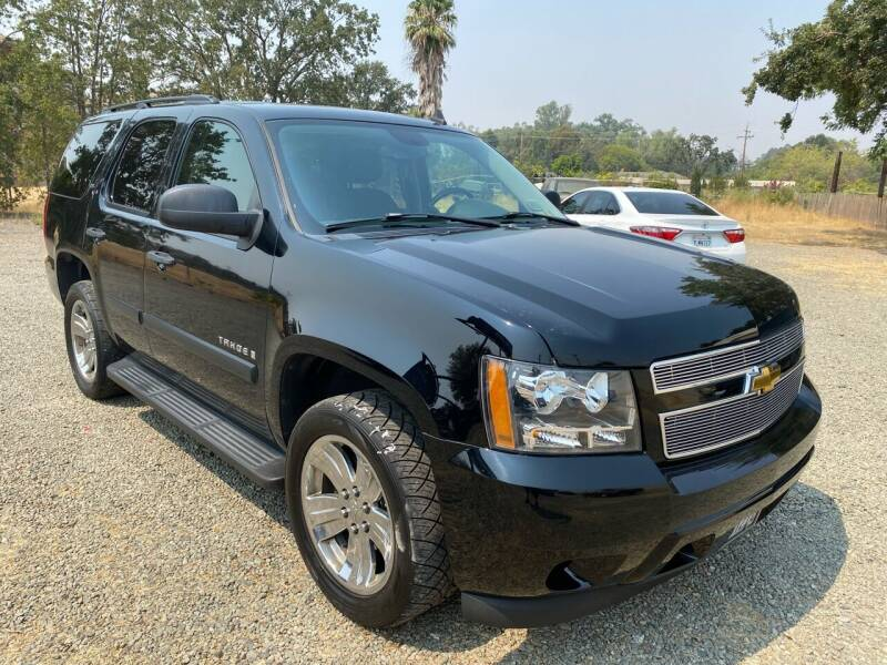 2007 Chevrolet Tahoe for sale at Quintero's Auto Sales in Vacaville CA