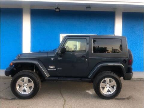 2008 Jeep Wrangler for sale at Khodas Cars in Gilroy CA