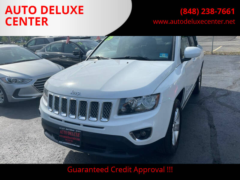 2015 Jeep Compass for sale at AUTO DELUXE CENTER in Toms River NJ