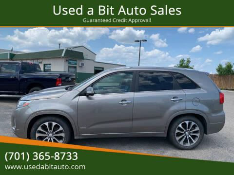 2014 Kia Sorento for sale at Used a Bit Auto Sales in Fargo ND
