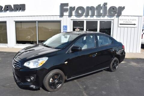 2019 Mitsubishi Mirage G4 for sale at Frontier Motors Automotive, Inc. in Winner SD
