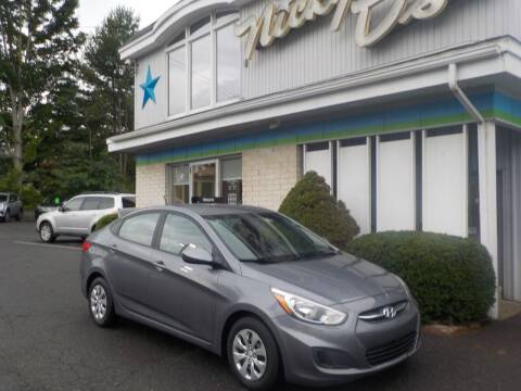 2016 Hyundai Accent for sale at Nicky D's in Easthampton MA