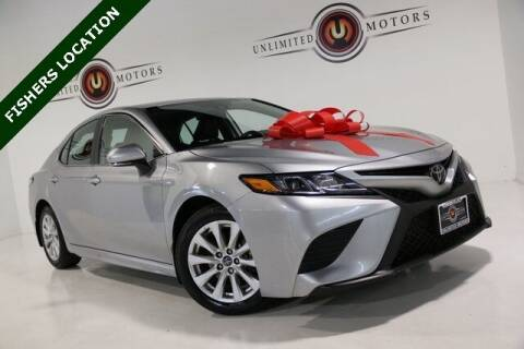 2020 Toyota Camry for sale at Unlimited Motors in Fishers IN