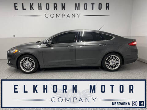 2016 Ford Fusion for sale at Elkhorn Motor Company in Waterloo NE