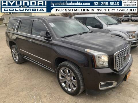 2016 GMC Yukon for sale at Hyundai of Columbia Con Alvaro in Columbia TN
