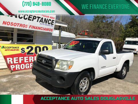 2007 Toyota Tacoma for sale at Acceptance Auto Sales Douglasville in Douglasville GA