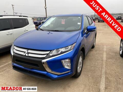 2019 Mitsubishi Eclipse Cross for sale at Meador Dodge Chrysler Jeep RAM in Fort Worth TX