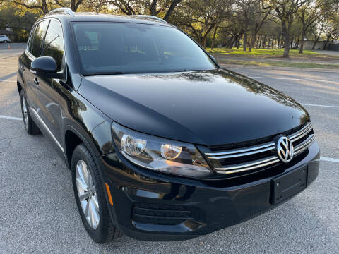 2017 Volkswagen Tiguan for sale at PRESTIGE AUTOPLEX LLC in Austin TX