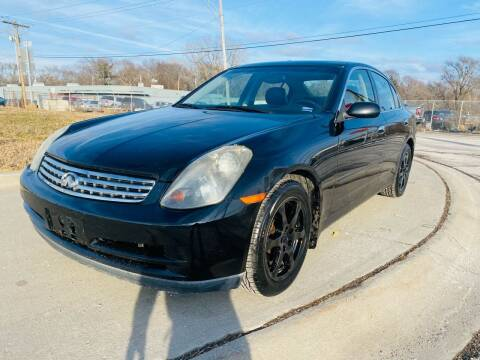 2004 Infiniti G35 for sale at Xtreme Auto Mart LLC in Kansas City MO