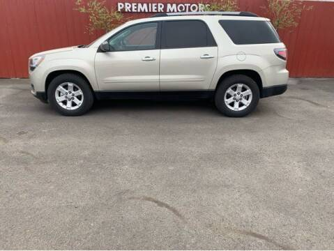 2014 GMC Acadia for sale at Premier Motors in Milton Freewater OR