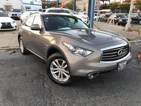 2012 Infiniti FX35 for sale at Excellence Auto Trade 1 Corp in Brooklyn NY