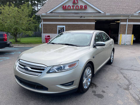 2010 Ford Taurus for sale at A 1 Motors in Monroe MI